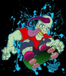 Skate or Die by ZMBGraphics