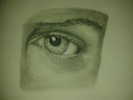 Studying Eye Details Closer View by Artsouls143