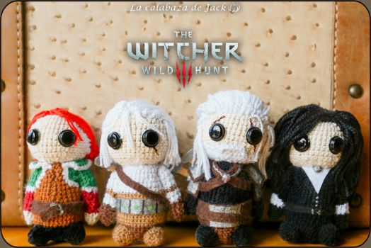 The witcher Amigurumi by cristell15