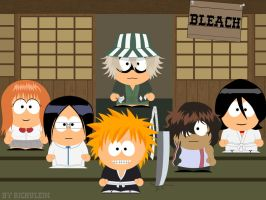 Bleach goes South Park by Rickulein
