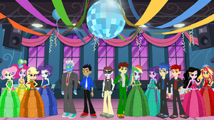 Fall Formal Party Wallpaper by Tantastirke