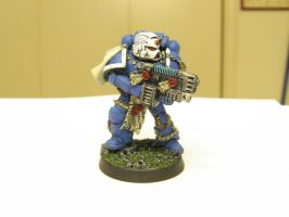 Sternguard Veteran by Indefiknight