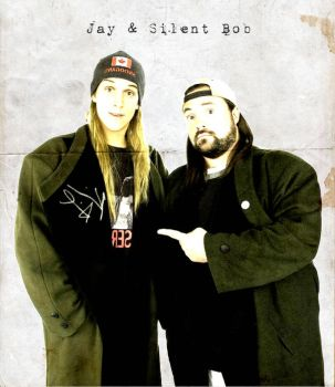 Jay And Silent Bob by DelinquentAntagonist