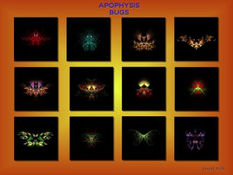 Apophysis bug print by shineout-fractals
