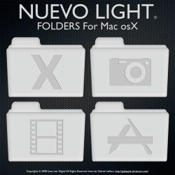 Nuevo Light Folders by igabapple