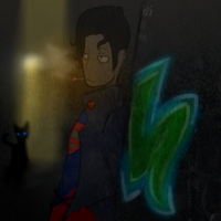 That kid is no Superman by ElectricPuffball