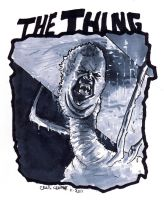 Carpenter's The Thing by craigcermak
