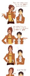 Captain Levi is not short by Jazzie560