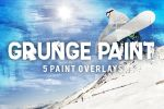 5 Grunge Paint Overlays by pstutorialsws