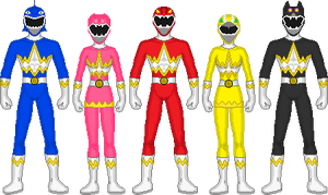 Power Rangers Beast Morphin by DerpMP6