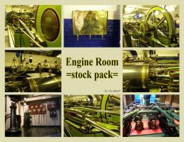 London 16 Engine room by Gwathiell