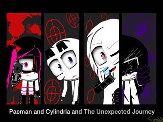 Pacman and Cylindria and The Unexpected Journey  by Allstarsunshine267