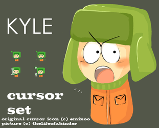 SP: Kyle Cursor Set by thelifeofabinder