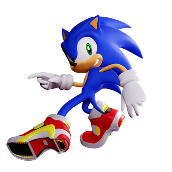 Sonic Adventure 2 - Pose2 by ModernLixes