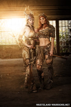 Sisters in Arms by Wasteland-Warriors