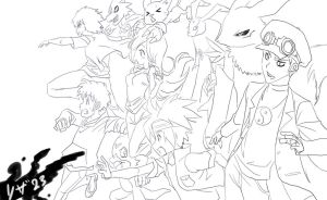 Digimon heroes 2 by Riza23