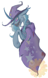 Nightmare Trixie by DagonGarres