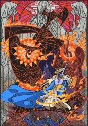 the final battle in Unnumbered Tears by breath-art