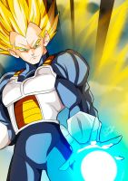 Super Vegeta by Sersiso
