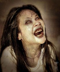 Possessed Girl by aaronsimscompany