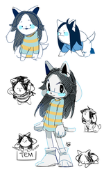 Temmie by Hanybe