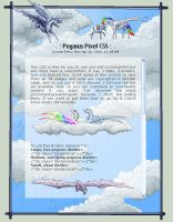 Pegasus Pixel CSS - Daylight by jennyleigh
