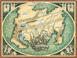 Map of Kal-Maddum by priscellie
