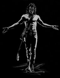 Brandon Lee - The Crow by Soatney