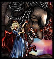 The Queen and her guardian by Icempress
