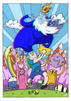 Adventure Time by stayte-of-the-art