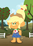 My Little Pony/Trolls Crossover: Applejack by the-epicteer
