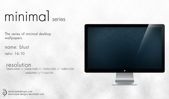 minima1 series - blust by electroqute-designs