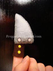 Knife puppet by FrealaF