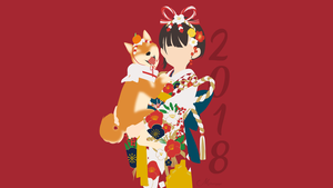 Happy 2018! by matsumayu