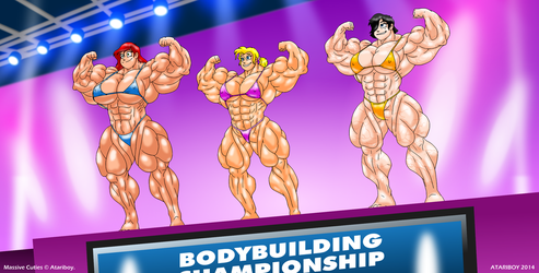 Muscle Worship? No Contest. by Atariboy2600