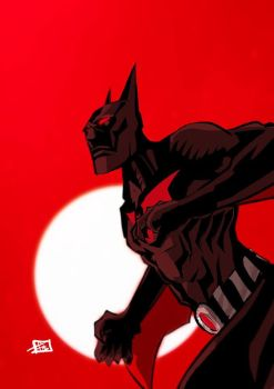 Batman Beyond by Ultrafpc