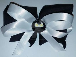 Catwoman Original Mask Hair Bow by wolf-girl87