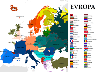 Map of Europe 2 by VittorioMatteo