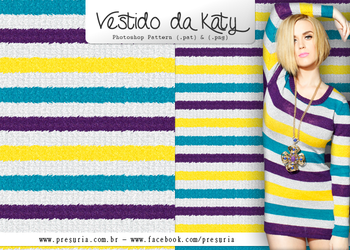 Photoshop Pattern - Katy Perry Dress by ByRoderico