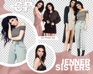 Png Pack 793 // Kendall y Kylie Jenner by confidentpngs