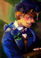 Newt Scamander (Fanart from FB) by wendysnape