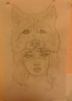 Wolf Girl by merrymexicans