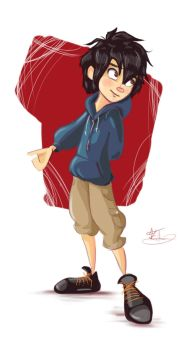 Request - Hiro by x-kaitlin-x