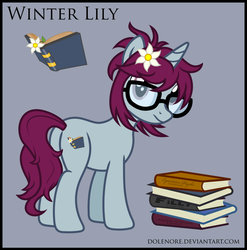 Winter Lily by dolenore