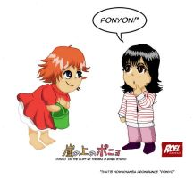 Ponyo and Khansa by roelworks