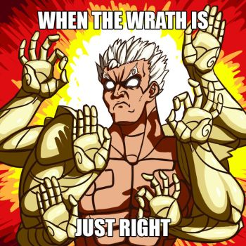 When the wrath is just right by BlooberBoy