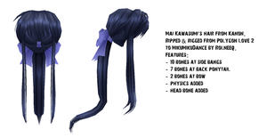 Mai Kawasumi hair download by Rolneeq