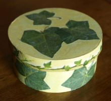Decoupage box by serenainwonderland