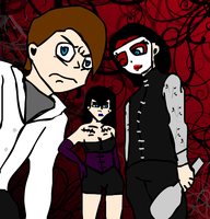 The Largo Trio :Art Trade: by ZombiexFood