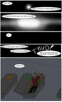 Undertale Green Page 1 by FlamingReaperComic
